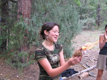 The magic of your first solo fire, Dreamtracking 2005.