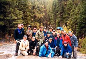 Tracking in Montana—September 1998