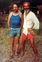 Poets Gary Snyder (left) and Nanao Sakaki (right)