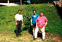 Kahele, John and Jake re- visit the tree in 1992