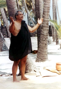 The late Hawaiian spiritual leader Parley Kanaka'ole.