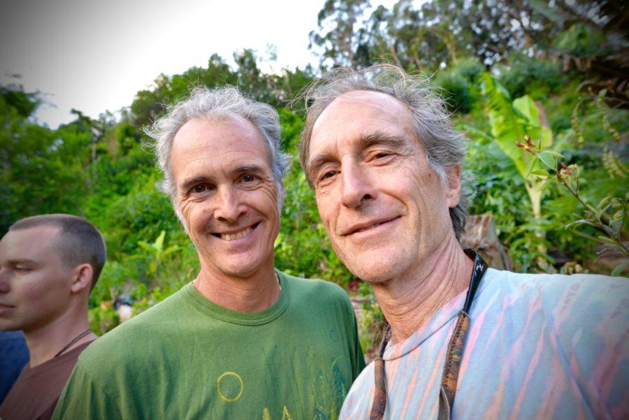 Francis and Roberto