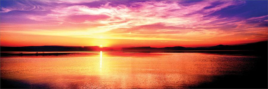 Sunset on the Sea of Galilee, Israel