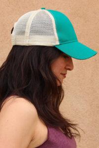 Eco-trucker Hat Emerald